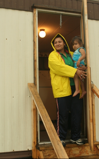 Mother and Daughter Farmworkers in Maine