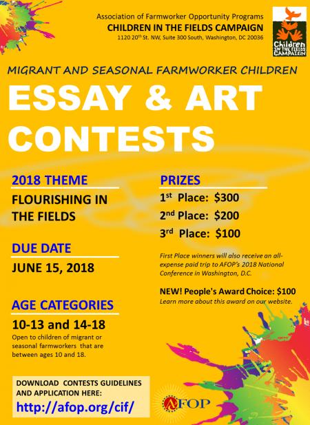 3-26-18 CIFC Essay and Art Contest KM (2)