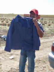 3-30-18 TX MET LSSD Man Holding Shirt Field