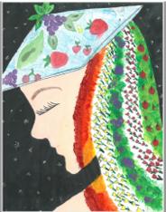 3rd place winning art by 3rd place winning art by Nevaeh L.