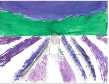 3rd place winning art by Griselda E.